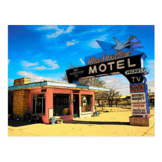 Route 66 Motel Postcard - Customized