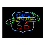 "Route 66 ""Mother Road"" Neon Sign"
