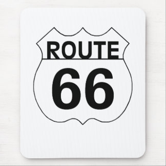 Route 66 Mouse Pad