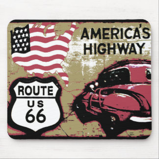 Route 66 mouse pads