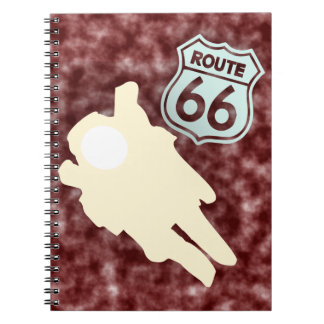 ROUTE 66 NOTES NOTEBOOK