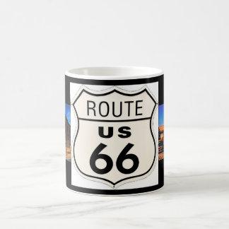 Route 66 Picture Mug