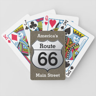 Route 66 - playing cards