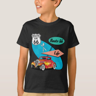 Route 66 Red Hot Rod Café T-Shirt