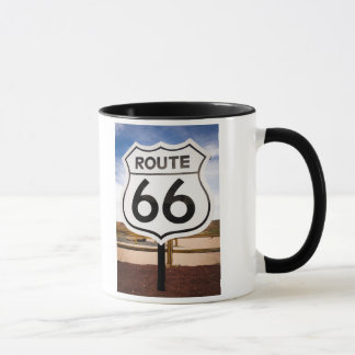 Route 66 road sign, Arizona Mug