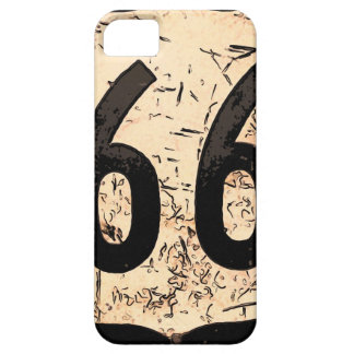 route-66-road-sign art iPhone 5 cases