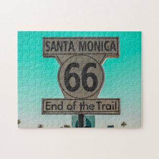 Route 66 Santa Monica. Jigsaw Puzzle