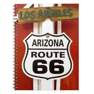 Route 66 Seligman Arizona Usa Notebook