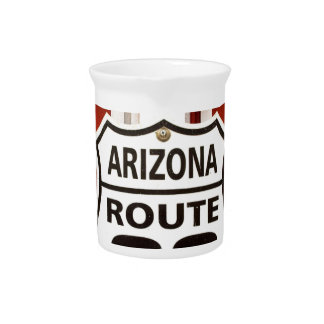 Route 66 Seligman Arizona Usa Pitcher