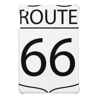Route 66 Sign Drawing Case For The iPad Mini