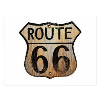 Route 66 Sign - Multiple Products Postcard