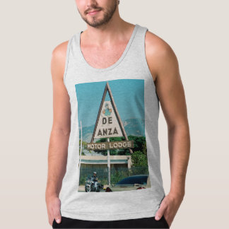 Route 66 Sign sleeveless shirt series 1