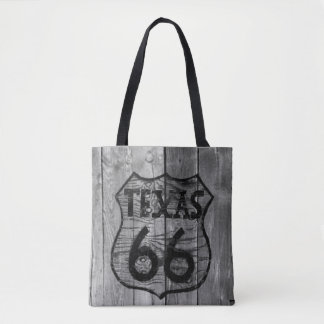 Route 66 Texas Tote Bag