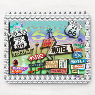 Route 66 - The Mother Road Mousepad