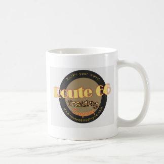 Route 66 Trading Co logo Basic White Mug
