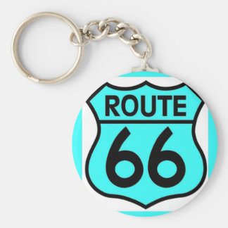 route 66 turquoise key chains