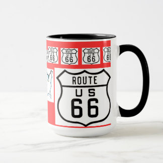 Route 66 Vintage Sign Gifts Mug