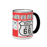 Route 66 Vintage Sign Gifts Mugs