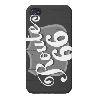 Route 66 Weatherboard iPhone 4/4S Cover