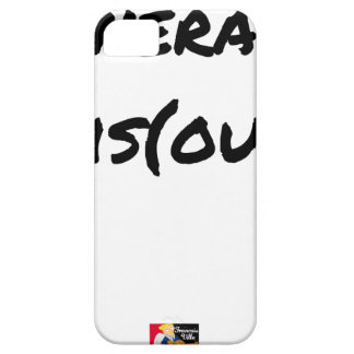 ROUTE (A) (OUS) - Word games - François City iPhone 5 Cover