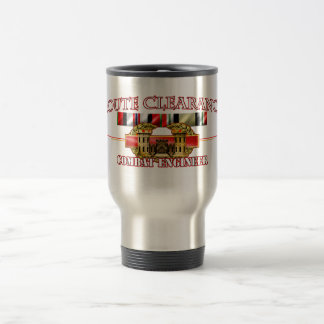 Route Clearance OEF OIF Travel Mug