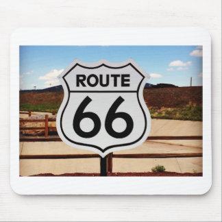 route sixty six usa americana hot rod rat rod mousepad