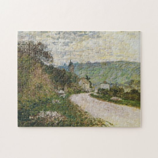 Route to Vetheuil Monet Fine Art Jigsaw Puzzle
