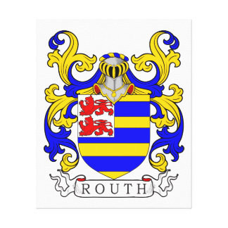 Routh Coat of Arms I Canvas Prints