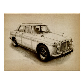 Rover P5 1968 Posters