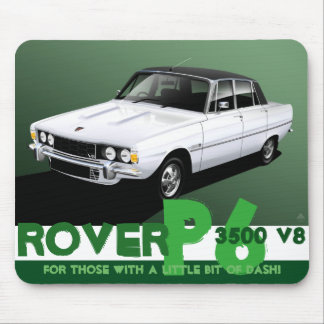 Rover P6 3500 V8 Mouse Mat