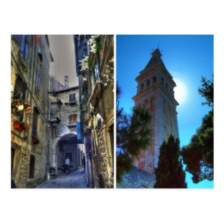 Rovinj, Croatia Postcard