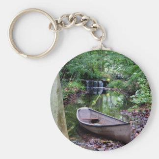 Row boat key ring