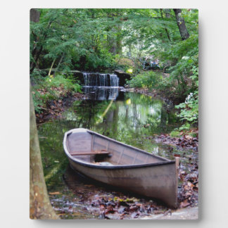 Row boat photo plaques