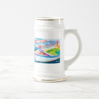 Row Boats Beer Stein