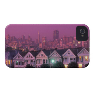 Row houses at sunset in San Francisco, Blackberry Cases