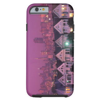 Row houses at sunset in San Francisco, Tough iPhone 6 Case