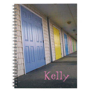 Row Of Doors Notebooks