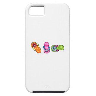 Row Of Flip Flops iPhone 5 Cases