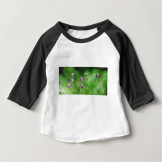 Row Of Irises Baby T-Shirt
