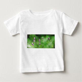 Row Of Irises Baby T-Shirt