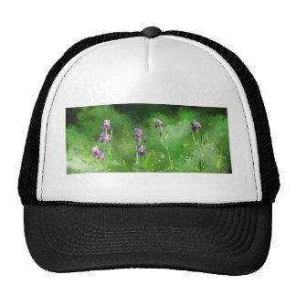 Row Of Irises Cap