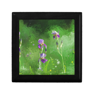 Row Of Irises Gift Box