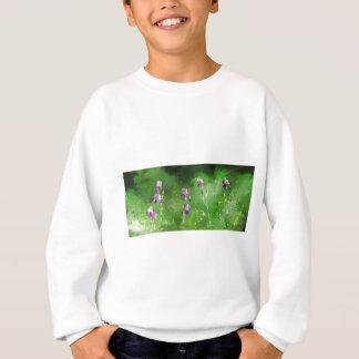 Row Of Irises Sweatshirt