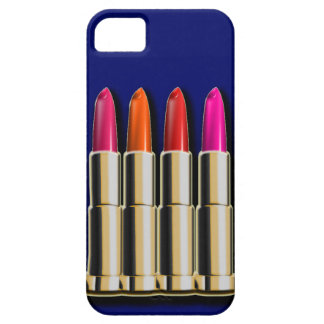 Row of Lipsticks in Different Shades iPhone 5 Case
