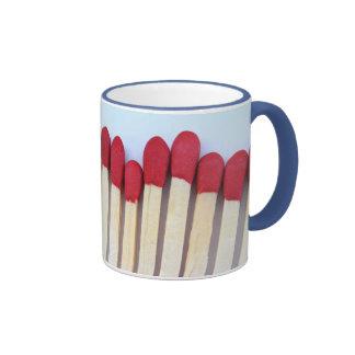 Row of Matches Coffee Mugs
