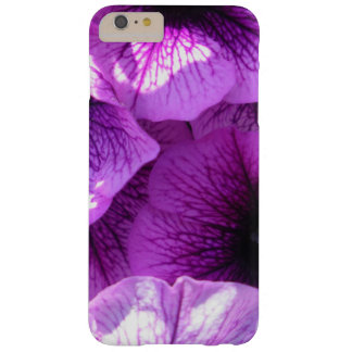 Row of Purple Wave Petunias Barely There iPhone 6 Plus Case