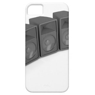 Row of speakers barely there iPhone 5 case