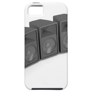 Row of speakers iPhone 5 cover
