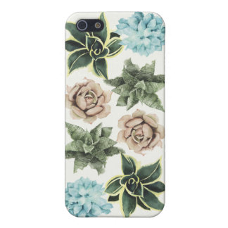 Row of Succulents iPhone 5 Cover