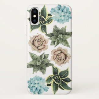 Row of Succulents iPhone X Case